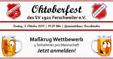 Oktoberfest des SV 1921 Ferschweiler e.V.