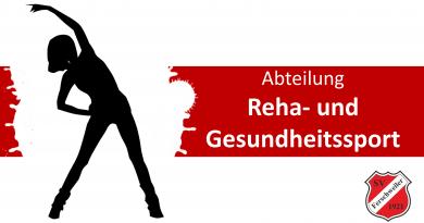 Termine der Abteilung Reha- und Gesundheitssport im Dezember