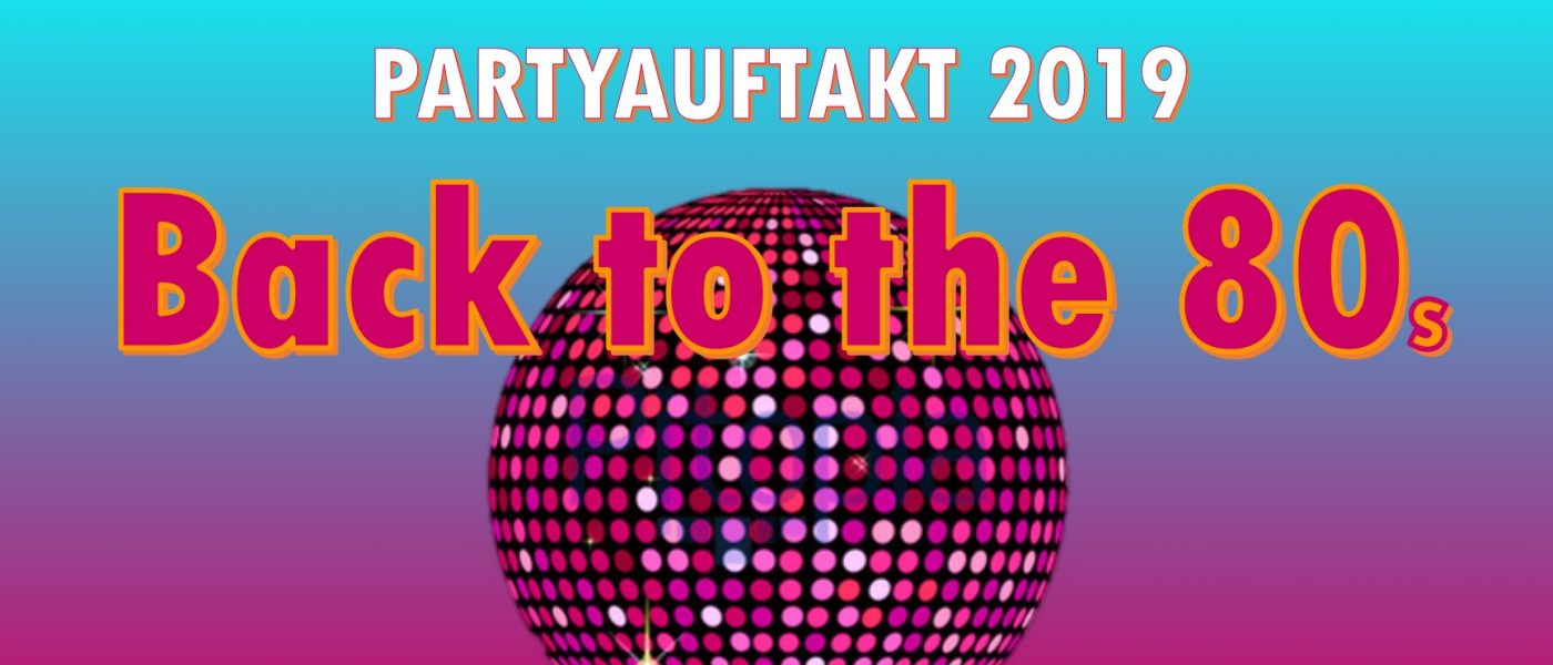 Funkytown Ernzen: Back to the 80s am 5. Januar 2019
