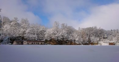 Wintermärchen Geisbachtal